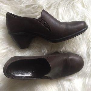 Dansko Brown Leather Professional Comfort Pumps
